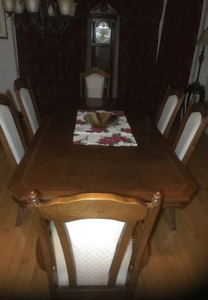 Dining set 6 chairs for Sale in Raleigh, NC