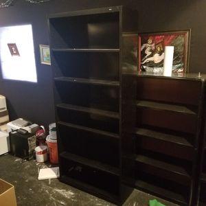 Black metal shelves for Sale in Orlando, FL