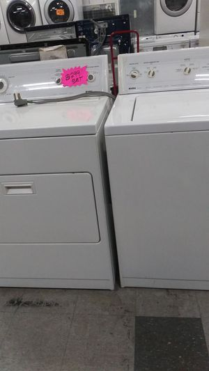 Set dryer and. Washer in good condition for Sale in Elkridge, MD
