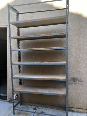 4 Tall metal shelves in good conditions for Sale in Murrieta, CA