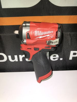 "Milwaukee M12 Fuel 3/8"" Stubby Impact Wrench for Sale in Lakewood, WA"