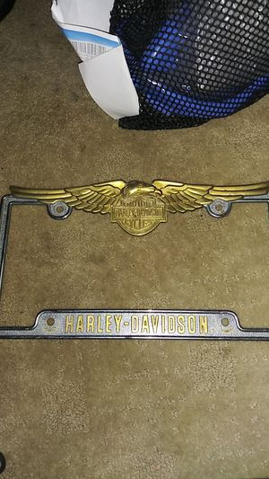 Harley Davidson Licence Plate Frame for Sale in Jurupa Valley, CA