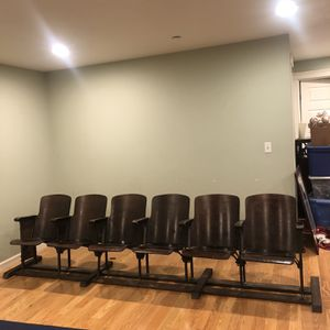 Antique theater chairs for Sale in Sumner, WA