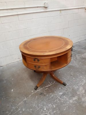 Antique table with the middle part able to spin... for Sale in Sheridan, CO
