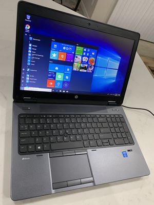 """Powerful HP ZBOOK 15 G2 15.6"""" i7-4810MQ@2.80GHz 16GB RAM 256GB SSD 1920x1080 Win10Pro *Excellent* for Sale in Aurora, CO"""
