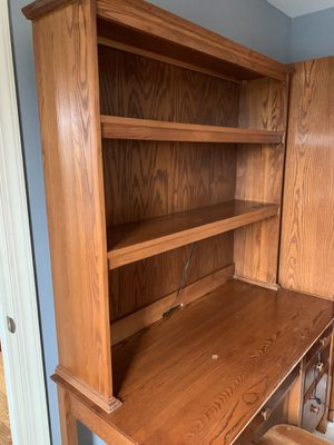 Desk with Hutch for Sale in Sterling, VA