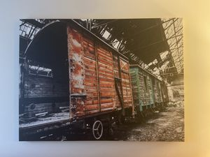 Train Canvas Wall Art for Sale in Washington, DC