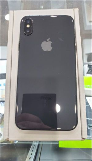 "iPhone X 64GB FACTORY UNLOCKED"" Like new with warranty for Sale in Silver Spring, MD"
