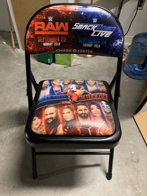 Authentic WWE Raw/Smackdown Chair for Sale in Pittsburg, CA