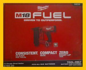 Mikwaukee M18 Fuel 18 Gauge Brad Nailer for Sale in Powder Springs, GA