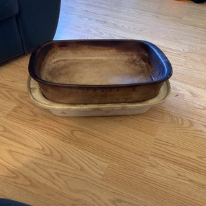 Pampered Chef Stone roaster w/ lid for Sale in Centreville, VA