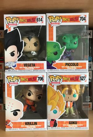 Dragonball Z Funko Pops for Sale in Carrollton, TX