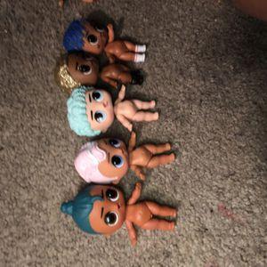five boy lol dolls for Sale in Greenbelt, MD