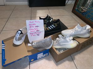 Sneakers. Kith NMD, Cream Yeezy, Bape Ultra boost for Sale in Miami, FL