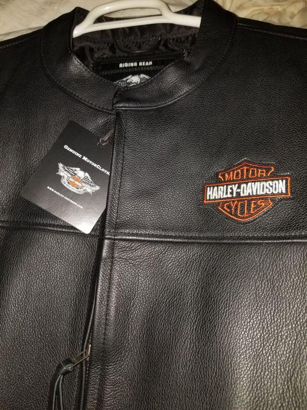 Authentic Leather Harley Davison jacket
