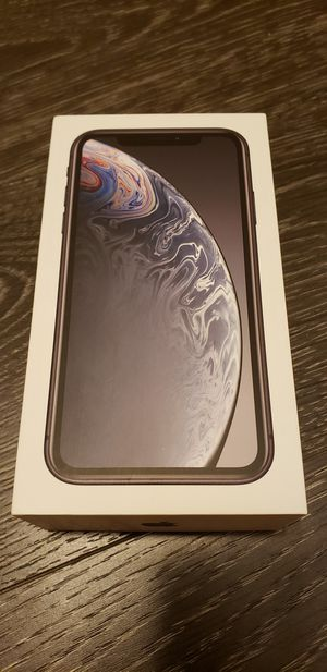 iPhone Xr 128GB Black Unlocked for Sale in Fairfax, VA