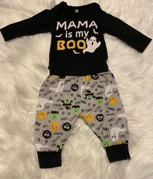 Mama is My Boo Baby Halloween Outfit Size 60 (3-6 Months) for Sale in Portland, OR