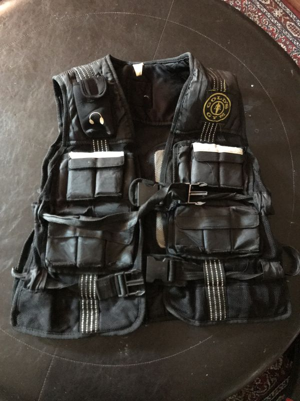 golds gym weight vest