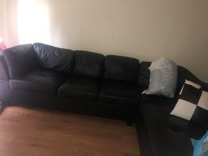 Black sectional for Sale in Frederick, MD