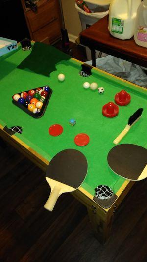 Indoor 6in1 mini fooseball table for Sale in Taylor, MI