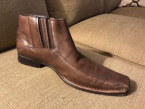 kenneth cole mens ankle boot cognac/brown for Sale in Santa Fe Springs, CA