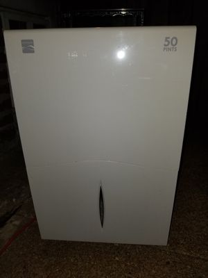 Kenmore white & black dehumidifier for Sale in St. Louis, MO