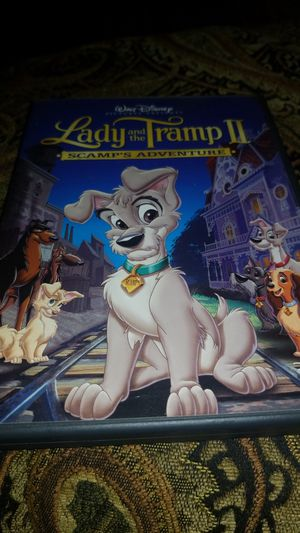 Lady and the Tramp DVD movie. Scamp's Adventure for Sale in San Fernando, CA