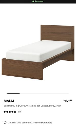 IKEA Malm Twin Brown for Sale in North Bethesda, MD