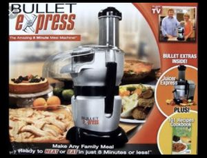 Bullet express 8 minute meal machine for Sale in Covington, WA