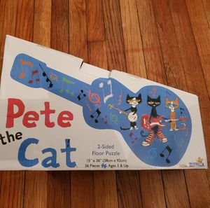 Pete The Cat Puzzle for Sale in Pasadena, TX