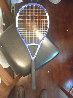 Wilson Pro Ncode N4 tennis racket grip size 4 and 3/8 for Sale in Richmond, VA