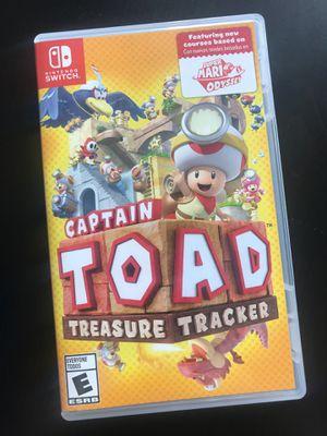 Captain Toad Treasure Tracker . Nintendo Switch for Sale in San Francisco, CA