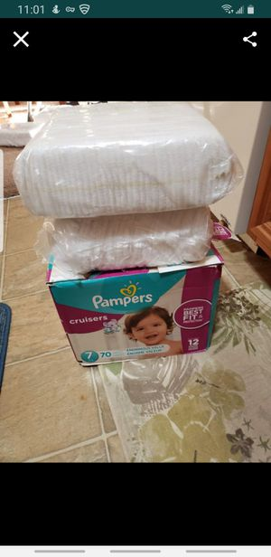 Pamper size 7 for Sale in DeBary, FL
