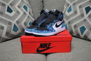DS Jordan 1 Tie Dye Size 12W 10.5M for Sale in Kansas City, KS