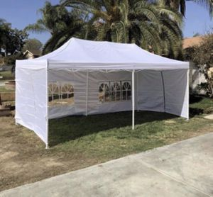 🌦🌦🌦10x20ft Pop Up Canopy Tent Available in Different colors🌦🌦🌦 for Sale in Pomona, CA