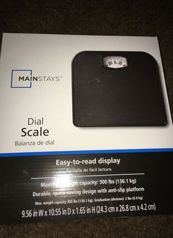 Bathroom scale great condition never used! for Sale in GILLEM ENCLAVE,  GA