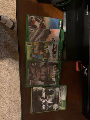 XBOX ONE GAMES for Sale in Midlothian, TX