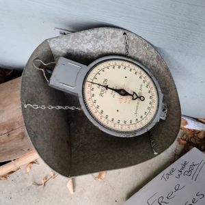 Old Hanging Scale for Sale in Tracy, CA