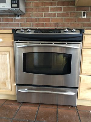 "GE Profile™ 30"" Slide-In Gas Range for Sale in Rockville, MD"