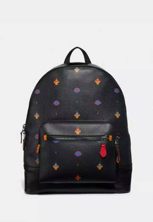 Nwt coach men's west backpack Atari coach print black MSRP $698 for Sale in Pasco, WA