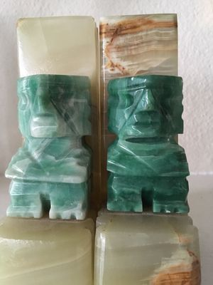 Vintage Marble bookends. Date from the 1920's for Sale in Albany, OR