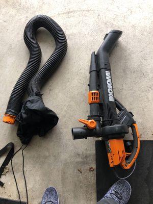 Workx leaf blower 3 in 1 wg509 for Sale in Clinton, MD