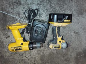 Dewalt impact and regular drill for sale works good price firm for Sale in San Diego, CA