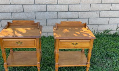 Two Wooden Nightstands for Sale in Costa Mesa,  CA