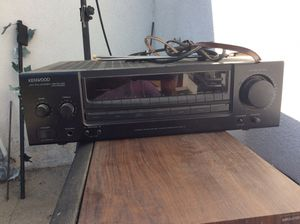 Kenwood stereo receiver with speakers for Sale in Cerritos, CA