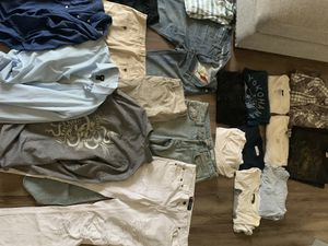 Lot of Used Clothes (H&M LuluLemon Levi's Express Nike) for Sale in Freehold, NJ