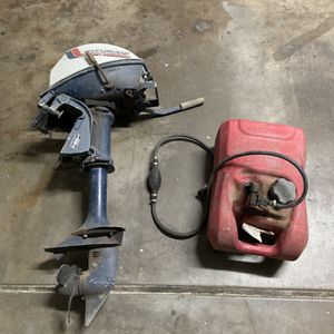 Evinrude 4hp Outboard Motor for Sale in Phoenix, AZ