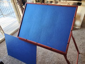 Game, puzzle, drawing portable table for Sale in Plymouth, MI