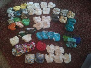 Newborn cloth diaper bundle for Sale in Beaumont, CA