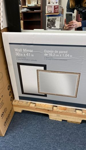 """Wall mirrors 30""""x41"""" black or gray for Sale in Apple Valley, CA"""